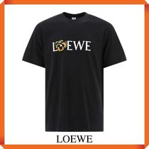 LOEWE PANSY T-SHIRT IN COTTON