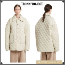 TRUNK PROJECTのCollar Quilted Jacket