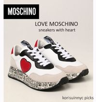 CUTE*MOSCHINO*Love Moschino sneakers with heart スニーカー