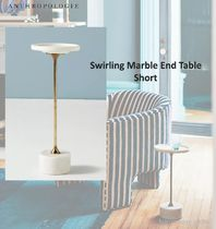 ANTHOROPLOGIE*Swirling Marble End Table サイドテーブル
