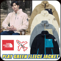 【THE NORTH FACE】PLAY GREEN FLEECE JACKET 4color