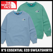 【THE NORTH FACE】大人もOK! K'S ESSENTIAL ECO SWEATSHIRTS