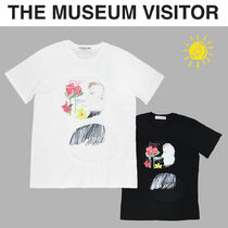 THE MUSEUM VISITOR(ザミュージアムビジター) Tシャツ・カットソー [THE MUSEUM VISITOR] ROSE MAN T-SHIRTS★アートワーク