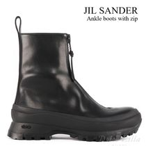 JIL SANDER Ankle boots with zip