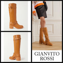 GIANVITO ROSSI Ryder 45 boots レザーニーブーツ 関税送料込