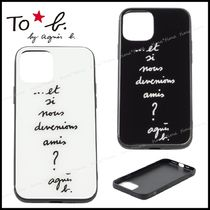 To b. by agnes b.◆iPhoneケース*iPhone12対応 プレゼント◎