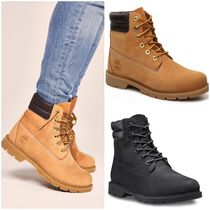 Timberland★LINDEN 防水レザー レースアップ ショートブーツ