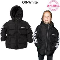 Off-White(オフホワイト) キッズアウター 国内発送★Off-White Diag パデッドジャケット ☆人気