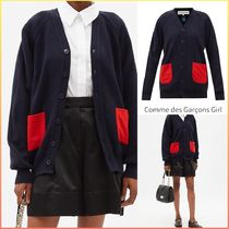 COMME DES GARCONS GIRL パッチポケット カーディガン