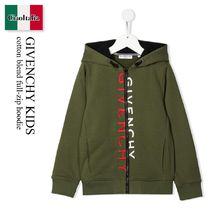 GIVENCHY(ジバンシィ) キッズ用トップス Givenchy Kids cotton blend full-zip hoodie
