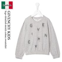 GIVENCHY(ジバンシィ) キッズ用トップス Givenchy Kids logo-detailed stretch cotton sweatshirt