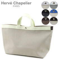 HERVE CHAPELIER(エルベシャプリエ) トートバッグ HERVE CHAPELIER エルベシャプリエ Luxe Square トートバッグ A4