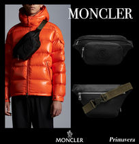 21AW◆MONCLER◆DURANCE◆ロゴ 入り ナイロンショルダーバッグ