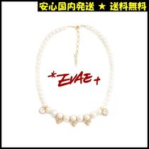 SALUTE(サルーテ) ネックレス・ペンダント ★安心国内発送【SALUTE】EVAE+MOBスカル CUBIC CHARMS NECKLACE
