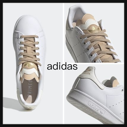 【adidas】新作!STAN SMITH SHOES Off White / Pale Nude ロゴ