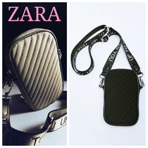 ZARA【NEW】QUILTED MOBILE PHONE BAG