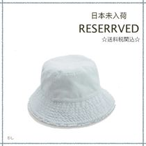 RESERVED(リザーブド) 帽子 【海外限定】関税込み☆RESERVED  バケットハット 10-13歳用