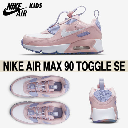 Nike キッズスニーカー ★Nike KIDS★AIR MAX 90 Toggle SE キッズ 17-22cm★追跡付