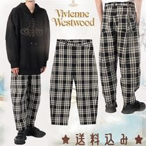 【Vivienne Westwood】新作プリーツポケット チェックトラウザー