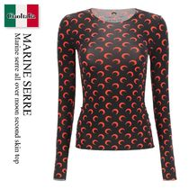 Marine serre all over moon second skin top