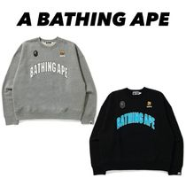 A BATHING APE(アベイシングエイプ) スウェット・トレーナー 【A BATHING APE】BUSY WORKS LOOSE FIT COLLEGE スウェット