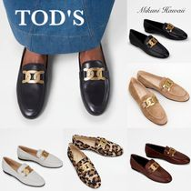 『TOD'S 』 Kate Loafers in Leatherケイト ローファー