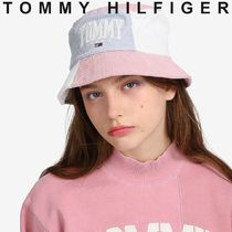 TOMMY JEANS COLLEGIATE CAPSULE ロゴバケットハット すぐ届く