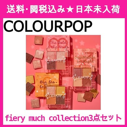 【COLOURPOP】fiery much collection☆アイシャドウパレット☆