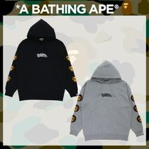 A BATHING APE(アベイシングエイプ) パーカー・フーディ 国内発送*《A BATHING APE》MILO OVERSIZED PULLOVER HOODIE