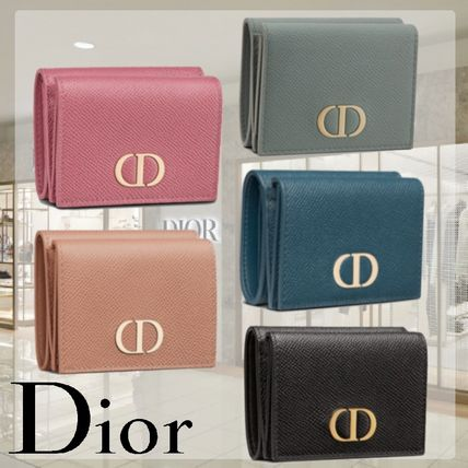 Dior 折りたたみ財布 ☆即日発送【Dior】30 MONTAIGNE コンパクトウォレット