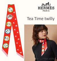 *Hermes*Tea Time twilly ティータイムツイリー
