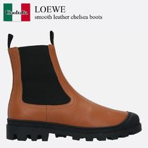Loewe smooth leather chelsea boots