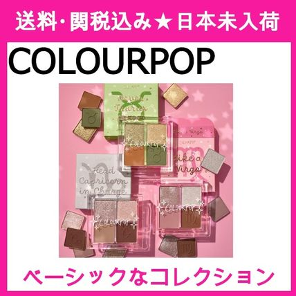 【COLOURPOP】so grounded collection アイシャドウパレット3点