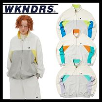 WKNDRS ☆ CUTTED TRACK JACKET  (全4Color)
