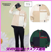 ☆SEVENTEEN エクスプス着用☆☆CONTRAST KNIT POLO☆全2色☆