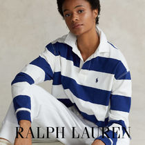 【Polo Ralph Lauren】Cropped Rugby Shirt ラグビーシャツ