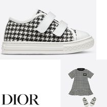 【DIOR】SNEAKERS Hound Tooth Wool スニーカー 出産祝いにも♪