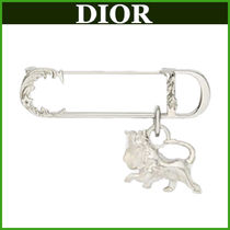 DIOR♠DIOR AND PETER DOIG ライオンモチーフブローチ