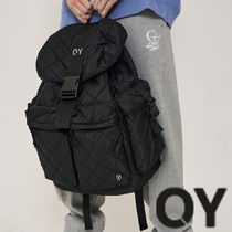 OY(オーワイ) バックパック・リュック ★OY★METAL QUILTING POCKET BACKPACK★正規品/韓国直送料込