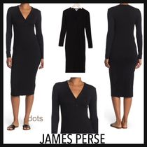 【SALE】JAMES PERSE★ボタンワンピ