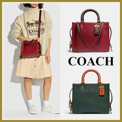 21AW【Coach】Rogue 25 In Colorblock ローグ 25 カラーブロック
