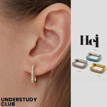 【Hei】3-7日お届け / stone one touch earring