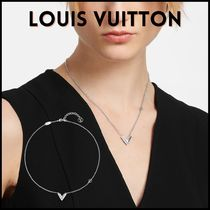 ★LOUIS VUITTON★ ESSENTIAL V シルバー ネックレス