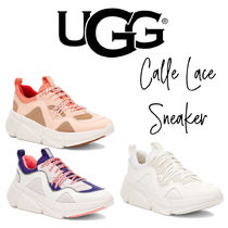 【UGG】CALLE LACE SNEAKER カレ レーススニーカー メッシュ