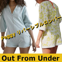 Urban Outfitters(アーバンアウトフィッターズ) トップスその他 【SALE】Out From Under Peggy リバーシブルロンパー【2色】