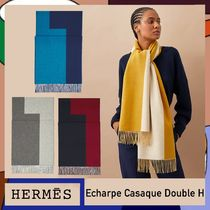 21/22AW [HERMES エルメス] マフラー《ダブルH》