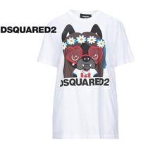 D SQUARED2(ディースクエアード) Tシャツ・カットソー 【人気SALE★】DSQUARED2 Tシャツ 限定