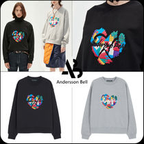 ANDERSSON BELL(アンダースンベル) スウェット・トレーナー [ANDERSSON BELL]UNISEX BROKEN HEART EMBROIDERY SWEATSHIRTS