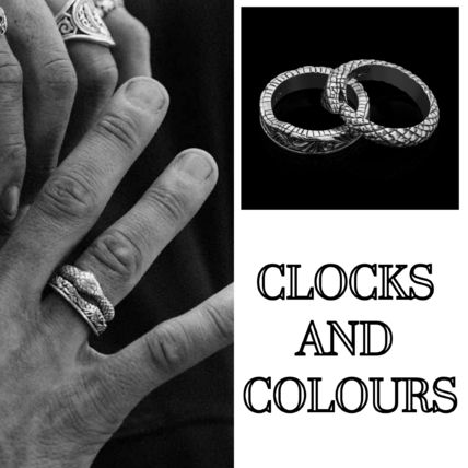 CLOCKS AND COLOURS◆2個セット ENDLESS リング 関送込