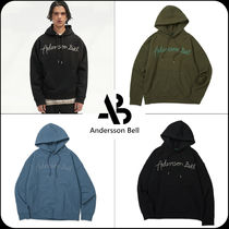 ANDERSSON BELL(アンダースンベル) パーカー・フーディ [ANDERSSON BELL]★UNISEX TOPOS LOGO EMBROIDERY HOODIE